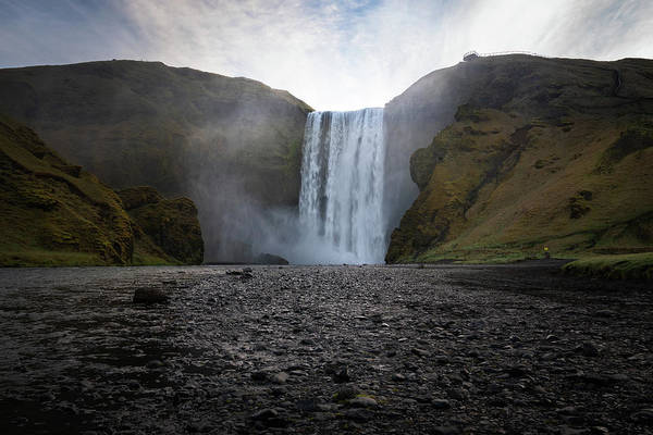 Photograph - Skogafoss Waterfall In Iceland by James Udall