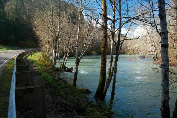 Photograph - Skokomish River - Around The Bend 2 by Jani Freimann