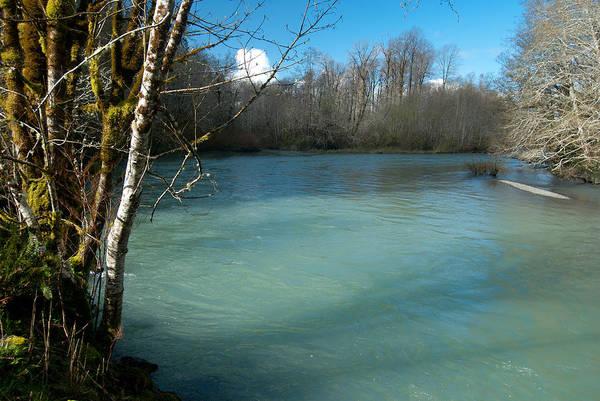 Photograph - Skokomish River - Around The Bend 3 by Jani Freimann