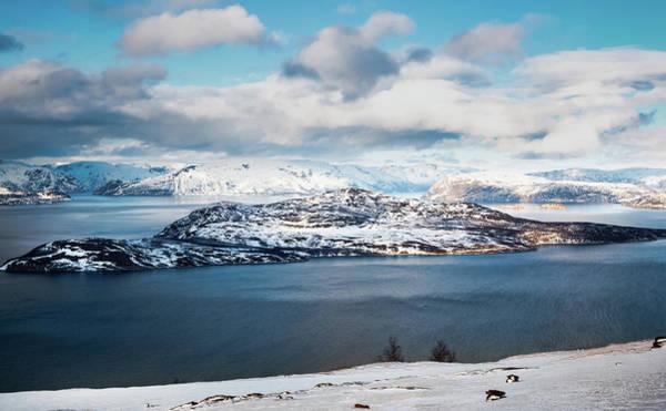 Photograph - Skorpa Noklan Island Badderfjorden Norway by Adam Rainoff