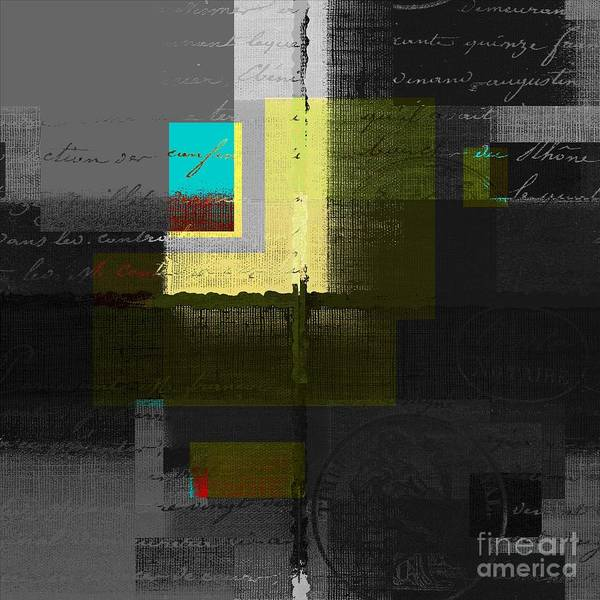 Turquoise Digital Art - Skouarios 04attx - J0234143191yg by Variance Collections