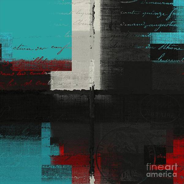 Turquoise Digital Art - Skouarios 04bttx - J234143191-v2 by Variance Collections