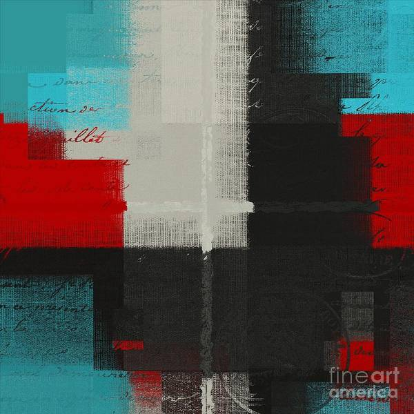 Turquoise Digital Art - Skouarios 04ttx - J103103052 by Variance Collections