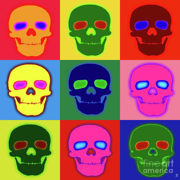 Revolting Digital Art - Skully Smile by Neil Finnemore