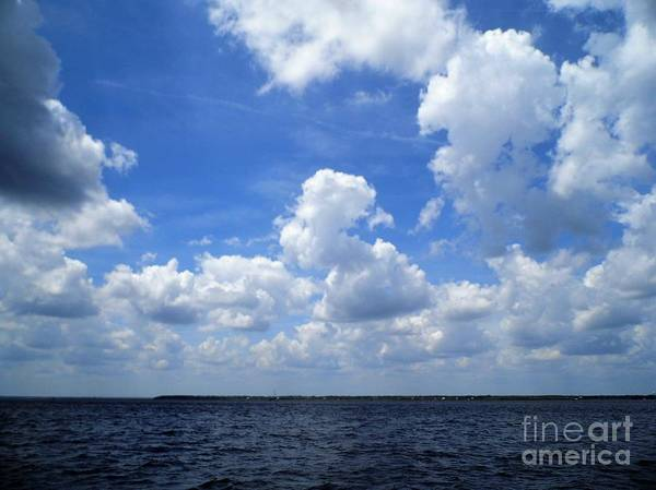 Photograph - Sky And Sea by D Hackett