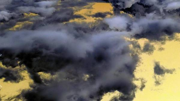 Photograph - Dark Side Of Clouds by Richard Yates