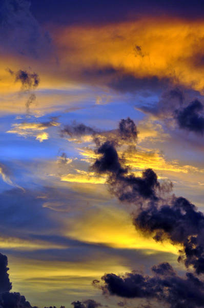 Wall Art - Photograph - Sky At Sunset by Rose  Hill