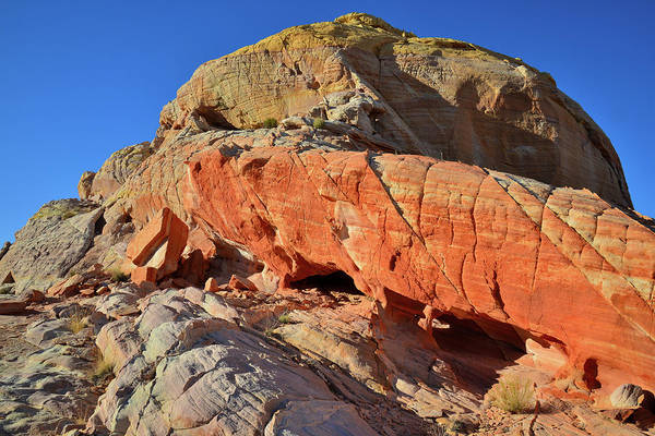 Photograph - Sky Bridge Of Sandstone In Valley Of Fire by Ray Mathis
