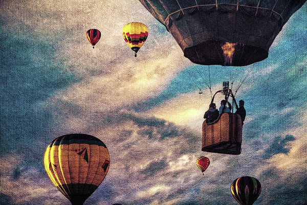 Wall Art - Photograph - Sky Caravan Hot Air Balloons by Bob Orsillo