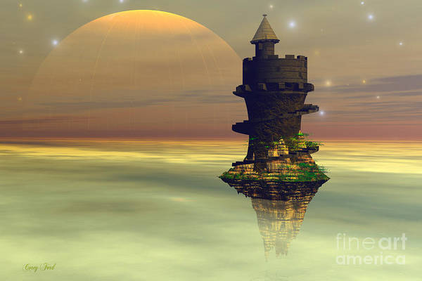 Wall Art - Painting - Sky Castle by Corey Ford