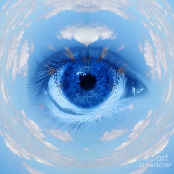 Skydive Painting - Sky Eye by Neil Finnemore