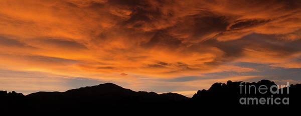 Wall Art - Photograph - Sky Fire by David Blackley