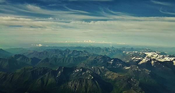 Elevation Photograph - Sky High by Britten Adams