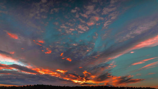Photograph - Sky In Fire #g6 by Leif Sohlman