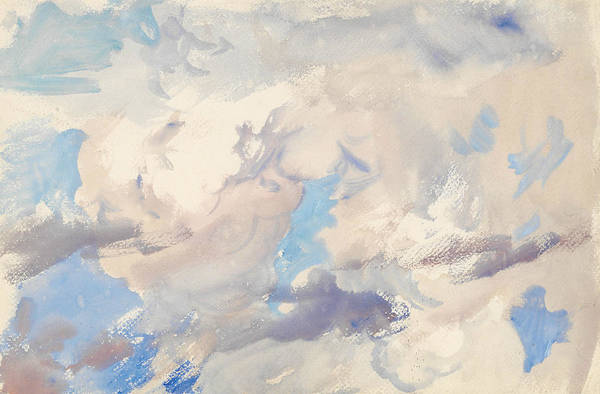 Drawing - Sky by John Singer Sargent
