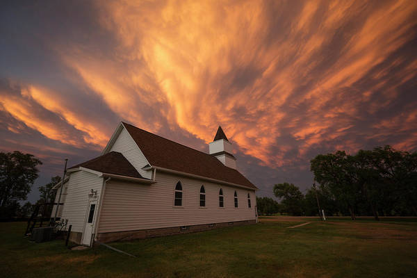 Wall Art - Photograph - Sky Of Fire by Aaron J Groen