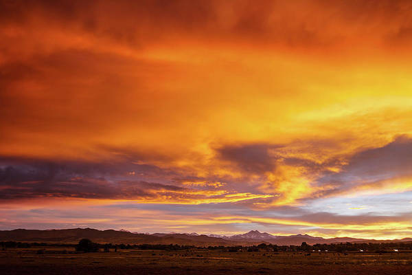 Photograph - Sky On Fire by James BO Insogna
