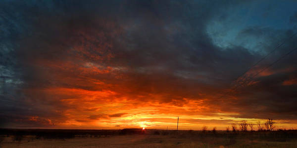 Photograph - Sky On Fire by Rod Seel