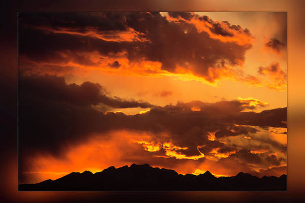 Photograph - Sky On Fire by Wolfgang Stocker