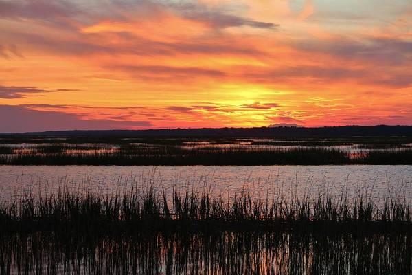 Photograph - Sky Over The Marsh by Cynthia Guinn