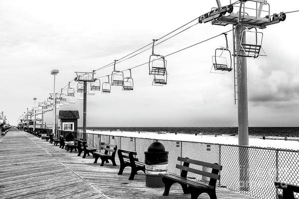 Sky Ride At Seaside Heights Art Print