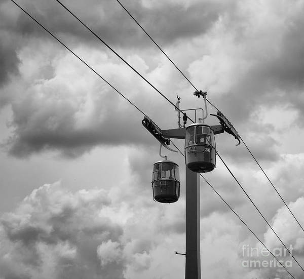 Fair Ground Photograph - Sky Riders by Jimmy Ostgard