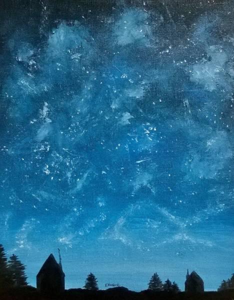 Blue Painting - Sky Show by Stephanie Ekwere