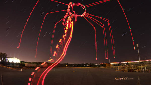 Wall Art - Photograph - Sky Spider by Andrew Nourse