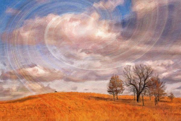 Wall Art - Photograph - Sky Swirls by Winnie Chrzanowski