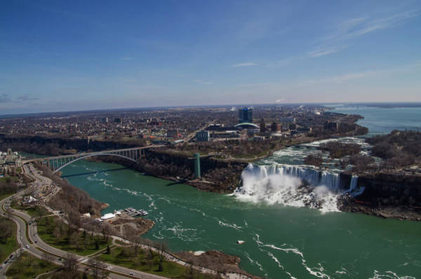 Photograph - Sky View Of Niagara Falls by Bill Cannon