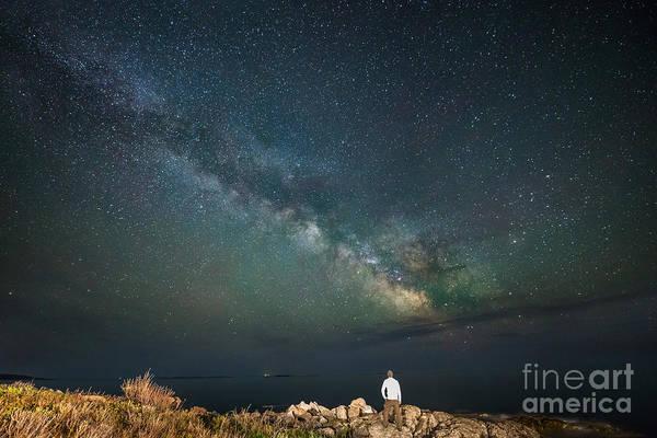 Port Clyde Photograph - Sky Walker by Michael Ver Sprill