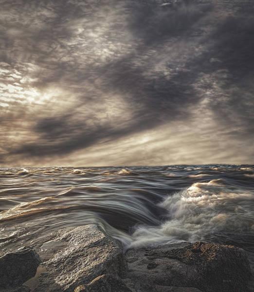 Photograph - Sky Water Rocks by Bob Orsillo