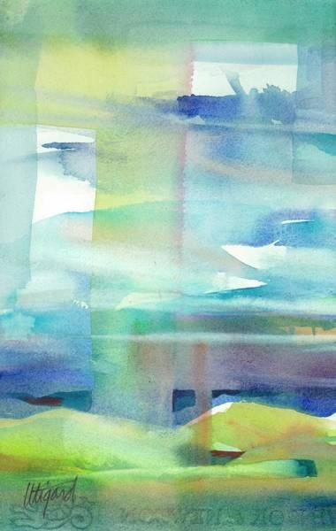 Painting - Sky Window 2 by Carolyn Utigard Thomas