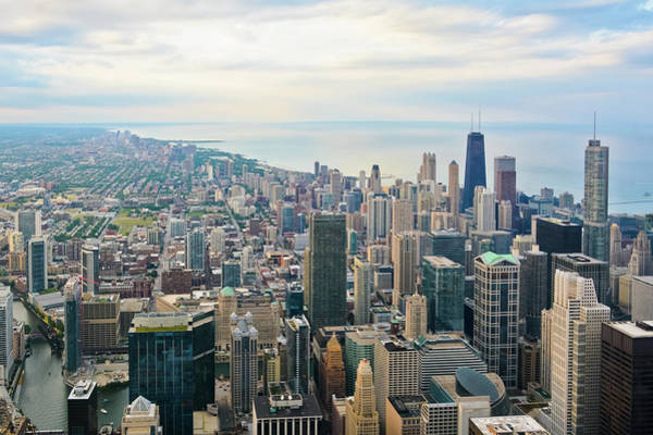 Photograph - Skydeck Chicago Skyline by Kyle Hanson