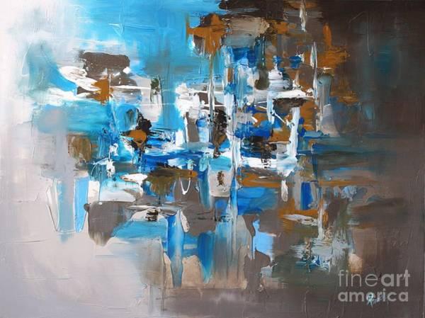 Painting - Skyland by Preethi Mathialagan