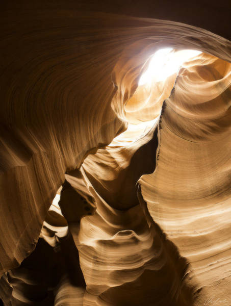 Photograph - Skylight At Antelope Canyon by Owen Weber
