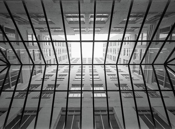 Skylights Wall Art - Photograph - Skylight In The Skyway by Jim Hughes