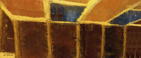 Painting - Skylights by RC DeWinter