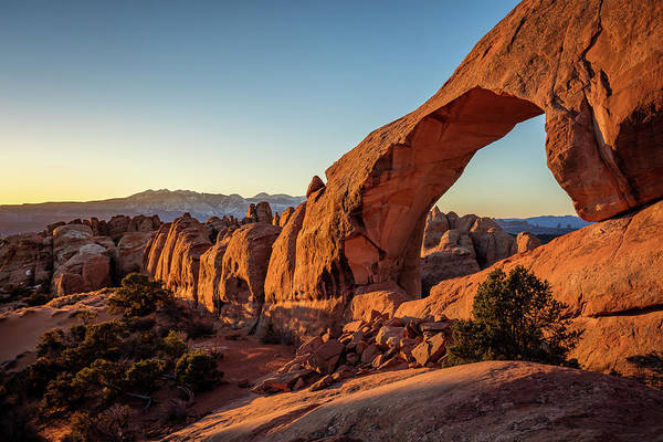 Photograph - Skyline Arch by Whit Richardson
