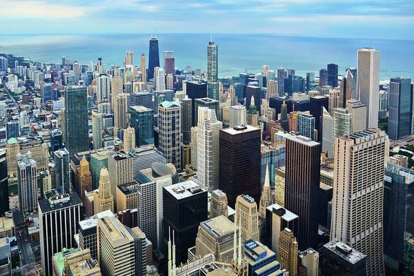 Photograph - Skyline Chicago by Kyle Hanson