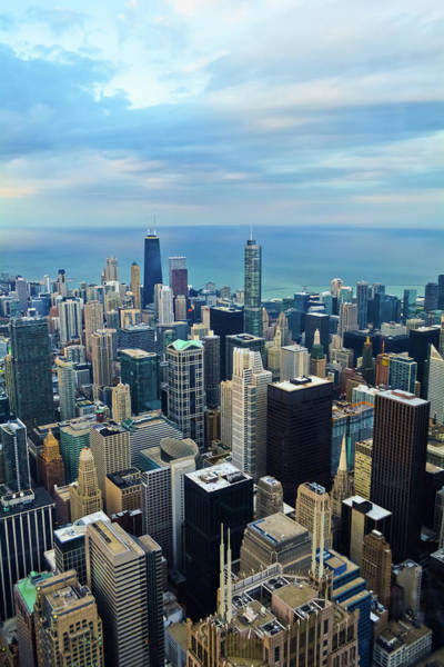 Photograph - Skyline Chicago Portrait by Kyle Hanson