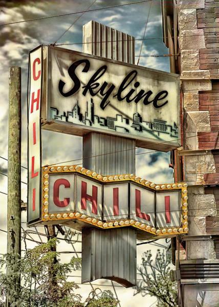 Wall Art - Photograph - Skyline Chili #2 by Stephen Stookey