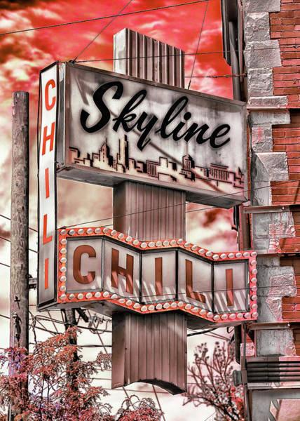 Wall Art - Photograph - Skyline Chili #3 by Stephen Stookey