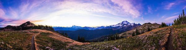 Divided Photograph - Skyline Divide Sunrise by Pelo Blanco Photo