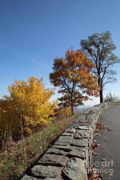 Wall Art - Photograph - Skyline Drive Overlook Near Hazel Mountain Skyline Drive by Louise Heusinkveld