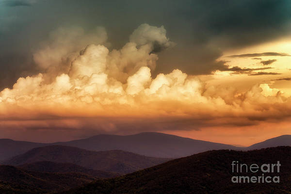 Photograph - Skyline Drive Scenic View by Thomas R Fletcher