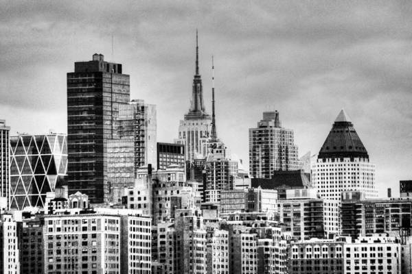 Photograph - Skyline Infrared 2 by Dave Beckerman