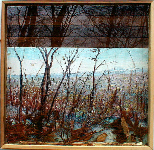 Inking Painting - Skyline by J E T I I I