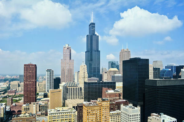 Photograph - Skyline Of Chicago by Kyle Hanson