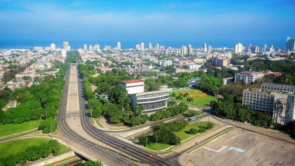 Photograph - Skyline Of Havana Cuba by Joan Carroll